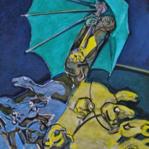 L'ombrello verde