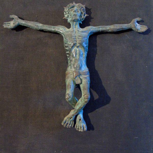 21 cristo dei minori bronzo su tavola 76×101