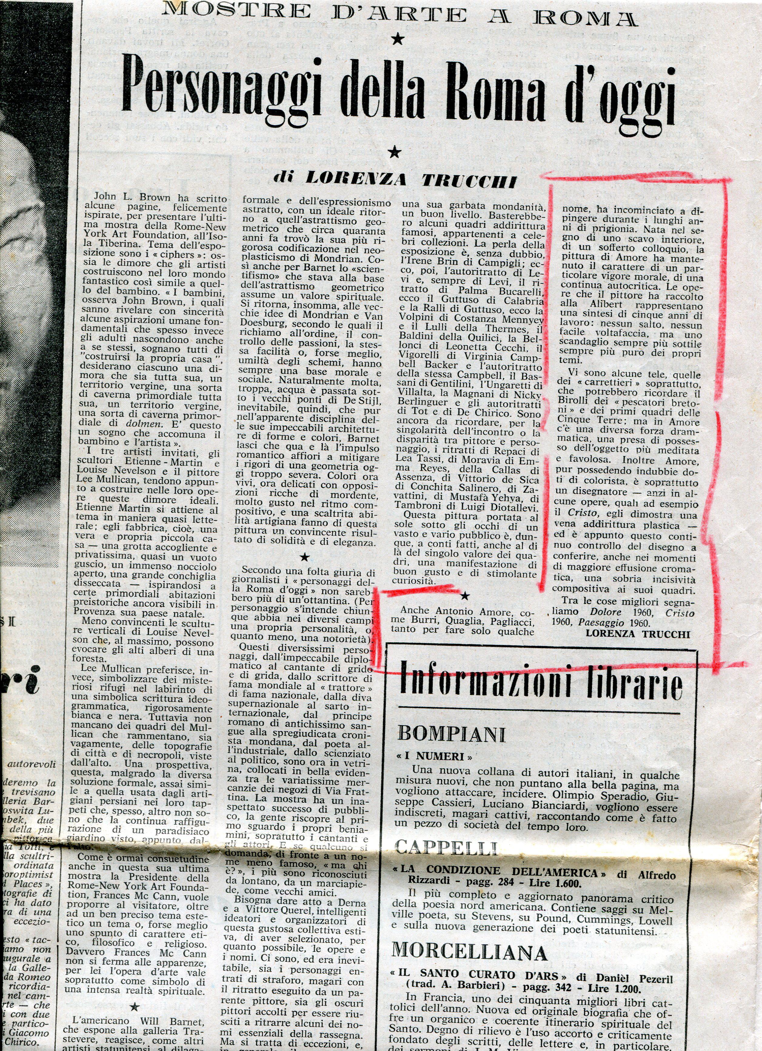 La Fiera Letteraria - 10 luglio 1960